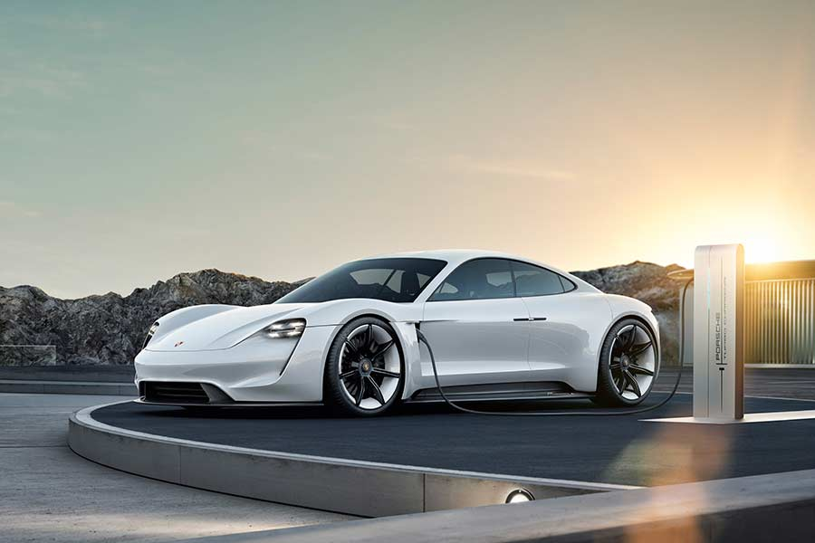 Porsche Announces the Name of Its First Electric Sports Car