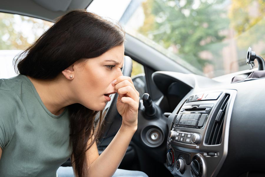 What the car smell means.