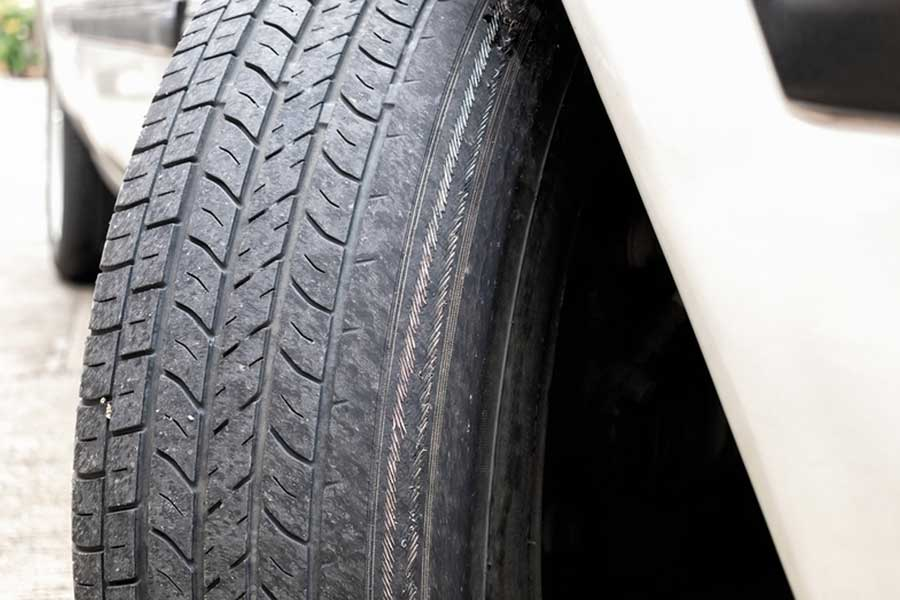 Know the signs of tire wear.